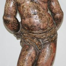 Beautiful carved Saint Sebastian, France circa 1550-1650